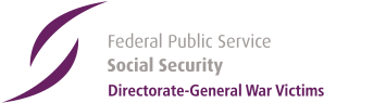 Logo of the Federal Public Service - Social Security, DG Victims of War