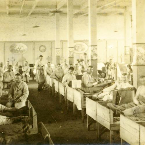 Bilder aus der Sanitätskompanie - Hôpital près de Wervicq